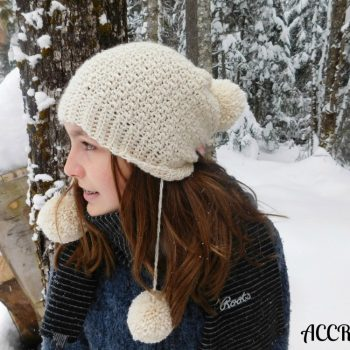 Snow Angel, tuque/hat, crochet