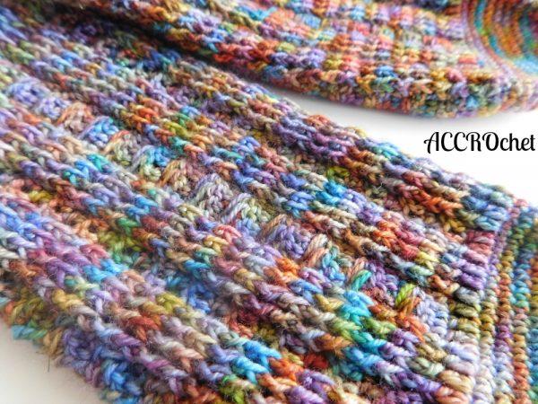 Joséphine, bas/socks, crochet