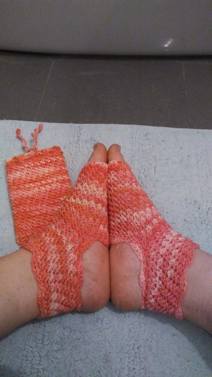 Hélène's Dragonfly Yoga Socks