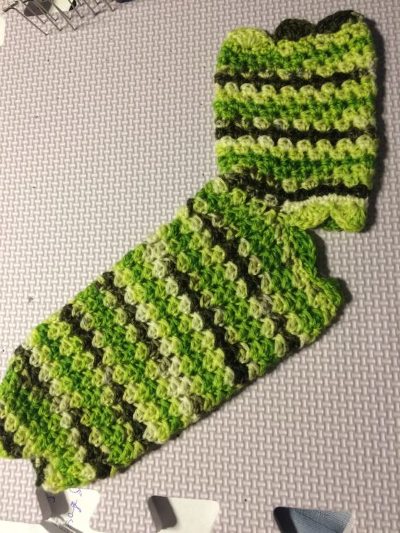 Linda's Dragonfly Yoga Socks