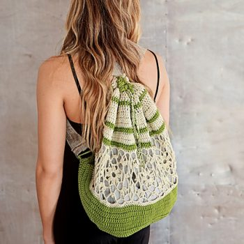 Boutique backpack by ACCROchet